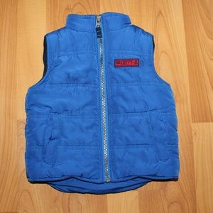 Carter's Boy 24M Puffer Vest Blue Coat Fleece